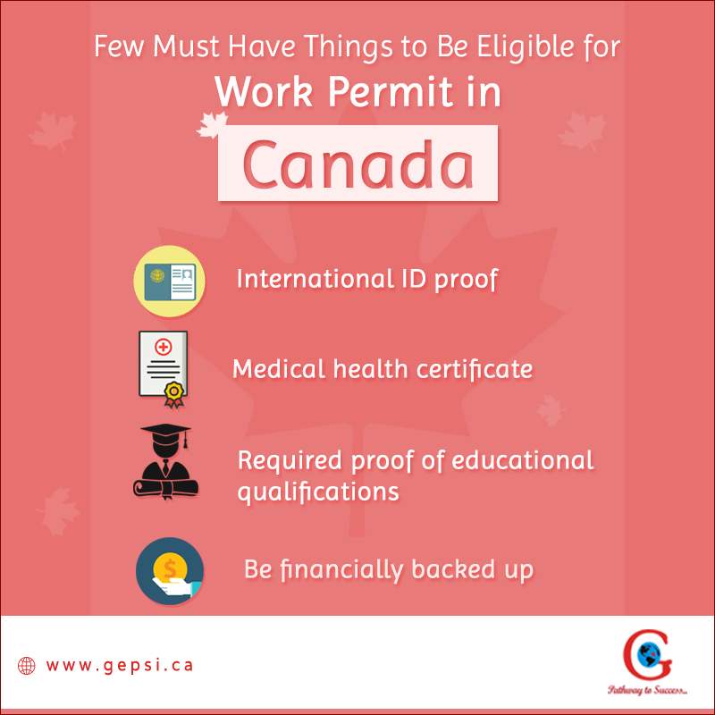 5 Must Have Things to Be Eligible for Work Permit in Canada
